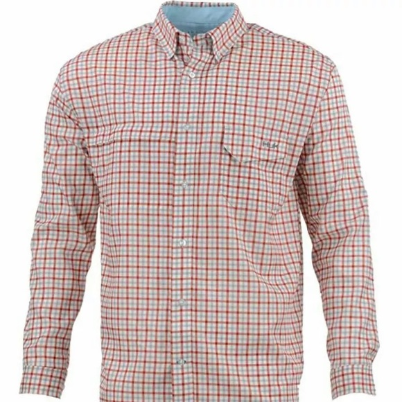 Huk Other - Huk Performance Tide Point Woven Plaid Checked